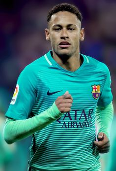 Neymar during the Copa del Rey Round of 16 first leg match between Athletic Club and FC Barcelona at San Mames Stadium on January 5, 2017 in Bilbao.