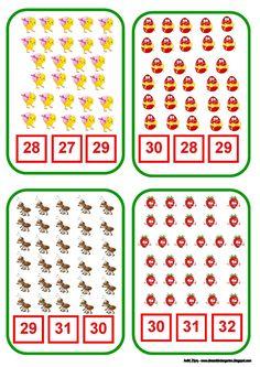 Το νέο νηπιαγωγείο που ονειρεύομαι : Ανοιξιάτικο παιχνίδι με αριθμούς από το 0 ως το 31 3rd Grade Math Worksheets, Printable Preschool Worksheets, English Worksheets For Kids, Kindergarten Math Worksheets, Kindergarten Fun, Preschool Math, Teaching Math, Math Activities, Math For Kids