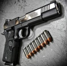 1911, pistol, bullets, guns, weapons, self defense, protection, 2nd amendment, America, firearms, munitions #guns #weapons