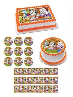101 DALMATIANS Edible Birthday Cake Topper