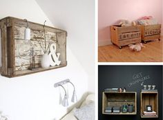 cajas de madera: decora con ellas!! | lilaygris