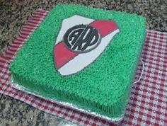 torta con escudo de river plate