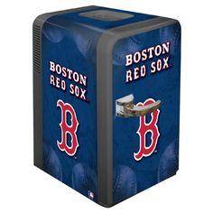 Boston Red Sox MLB 24 can Portable Party Refrigerator | Man Cave Kingdom