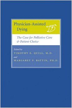 Despite a growing consensus that effective palliative care should be a core element in the treatment of all terminally ill patients, challenging questions remain about the physician's role in helping suffering patients end their lives. Physician-assisted dying remains one of the most controversial issues facing doctors, lawmakers, and patients today, and the need for intelligent and informed opinion on both sides of the debate is greater than ever.
