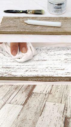 Whitewash Wood, Weathered Wood, Barn Wood, Salvaged Wood, How To Whitewash Furniture, Distressed Wood Furniture, White Washed Furniture, Furniture Vintage, Industrial Furniture