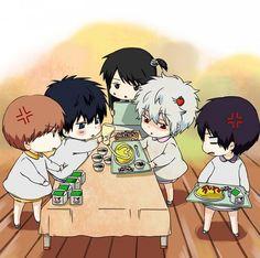 GINTAMA Anime Love Haikyuu Cute Chibi Otaku Manga Okikagu
