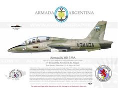 Argentina Air Force Aermacchi who drowend HMS Agronaut ( Malvinas War American Air, Old Planes, Falklands War, War Thunder, Aircraft Painting, Camouflage, Aviation Art, Model Airplanes, War Machine