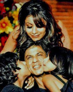 Shahrukh Khan and Gauri