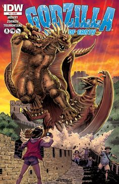 Preview: Godzilla: Rulers Of Earth # 5