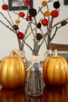 Cute Centerpiece and Easy