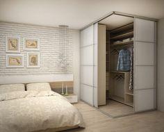 Schlafzimmer hálószoba em 2019 home bedroom, bedroom wardrob Dressing Room Design, Home, Home Bedroom, Bedroom Interior, Corner Wardrobe, Closet Decor, Bedroom Closet Design, Interior Design Bedroom, Bedroom Decor