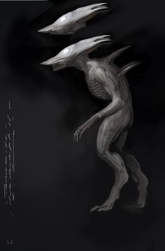 Carlos Huante Art Alien Covenant Concept Art, Wild Shape, Alien Isolation, Aliens Movie, Alien Vs Predator, Creature Design, Art Images, Fantasy Art, Fantasy Creatures