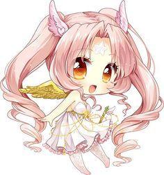 Cute Angel Chibi looks kinda like cupid.