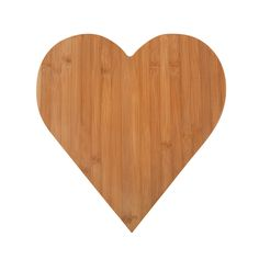 Core Bamboo Heart Cutting Board: Great Gift - Perfect Sister Gift!!! (Colleen)