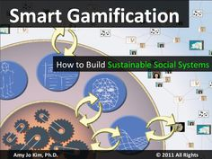 Amy Jo Kim, Ph.D.  © 2011 All Rights Reserved Smart Gamification How to Build  Sustainable Social Systems