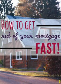 Mortgage payments are such a pain, but this post gave me a few ideas on how I can pay my mortgage off early so I don't have to worry about it anymore!