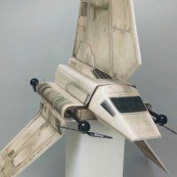 Watch This Imperial Shuttle Drone Hover Ominously Through the Night