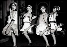 • This image displays how women began to dress in the 1920s. Commonly called 'flappers', this new appearance for women was a strong symbol of the decade. The idea of the flapper not only changed women's appearances but also influenced how they acted and behaved.  • Significance: This was the first time that women started to become their own person. They started to dress in a more 'revealing' way and started partying and dancing more frequently. This was clearly a positive asset the the…