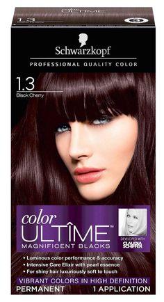 Schwarzkopf Color Ultime Hair Color 1.3 Black Cherry (Slight Distressed Box) #Schwarzkopf