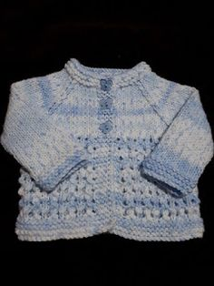 Simple stylish knitting & crochet patterns from a popular independent designer. Baby Cardigan Knitting Pattern Free, Baby Boy Knitting Patterns, Baby Girl Patterns, Knitted Baby Cardigan, Knit Baby Sweaters, Crochet Jacket, Free Knitting, Knitting Ideas, Gowns