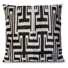 L'Objet Dedale Chevron Pillows ($425) ❤ liked on Polyvore featuring home, home decor, throw pillows, textured throw pillows, zig zag throw pillows, turkish throw pillows, chevron throw pillows and turkish home decor
