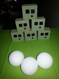 Minecraft Party Slime toss