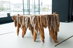 baguette tables by studio rygalik