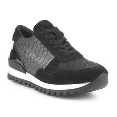 9d4f11298ed Zapatilla Urbana Serpiente Piel Fosco - Zapatillas urbanas - Zapatos mujer  - Negro
