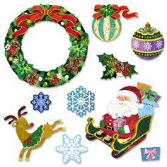 Wall Decorations: Christmas