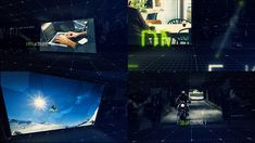 Futuristic Slideshow