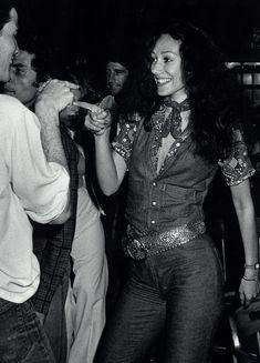 Marisa Berenson au Studio 54 à New York en 1975