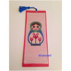 Bookmark ready for order, matrushka, made with love❤️📚