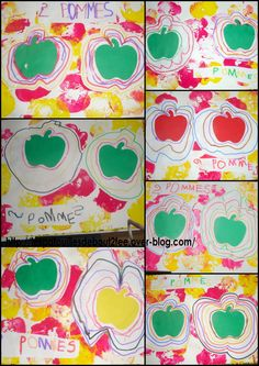 album à compter 2 pommes