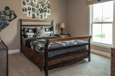 Fischer Homes Foster Boy Bedroom