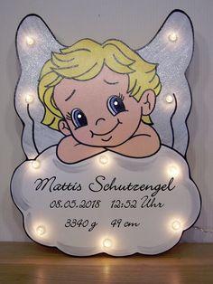 LED Farbwa Engel Angel Fensterdeko Nachtlicht Schlummerlicht NACHTLAMPE GESCHENK