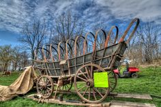 Conestoga Wagon at Old Fashioned Day in Upstate NY