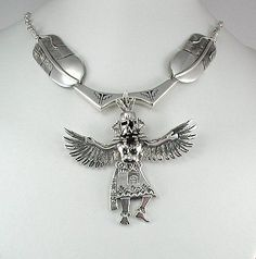 Bennie Ration Eagle Dancer necklace
