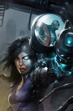 Exclusive Cover Reveal: AVENGERS UNDERCOVER #6 Deathlok Homage - Comic Vine