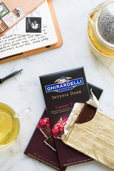 Perfect Chocolate Pairings @ghirardellico / See and Savour