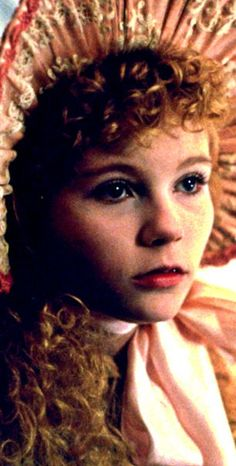 Kirsten Dunst as Claudia in Interview With the Vampire