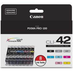 Canon CLI-42 Color Ink Value Pack (8 Ink Tanks)