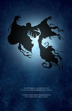 Harry Potter Patronus Light vs. Dark Digital by watchitDesigns