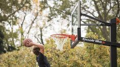 Explore our collection of the best home in-ground basketball hoops, including regulation size and height adjustable hoops that provide professional-level performance. Basketball Court Flooring, College Basketball, The Incredibles, Explore, Collection, College Basket, Exploring