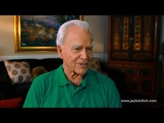 Interview with Jay Kordich (The Juiceman, now 90 years old) - He cured himself of cancer (in his 20's) by juicing using the Gerson Therapy.