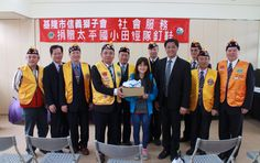 District 300F #LionsClubs (Taiwan) donated new running shoes to a school track team