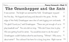 Free Printable Fluency Passages for grades 2nd-12th. Google search ...