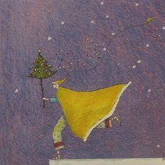 Gaelle Boissonnard Christmas Card   GB25