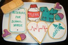 Nurse Cookies <3