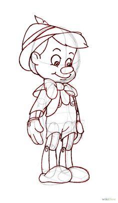 Disney - How to Draw Pinocchio