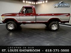 Antique Ford Trucks | ... Ford F250 Truck Burgundy 8 Cylinder Other | Classic Trucks | Fairmont